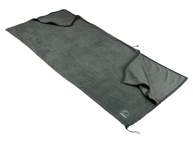 Nordisk Fleeceinlett blanket dark grey